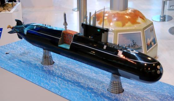 неатомной подводной лодки проекта калина