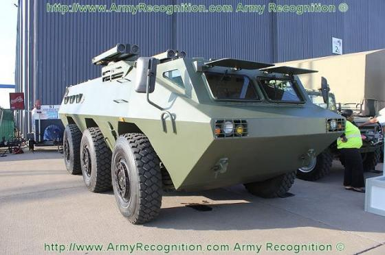 Venezuelan National Guard will receive Chinese-made armored vehicles VN4