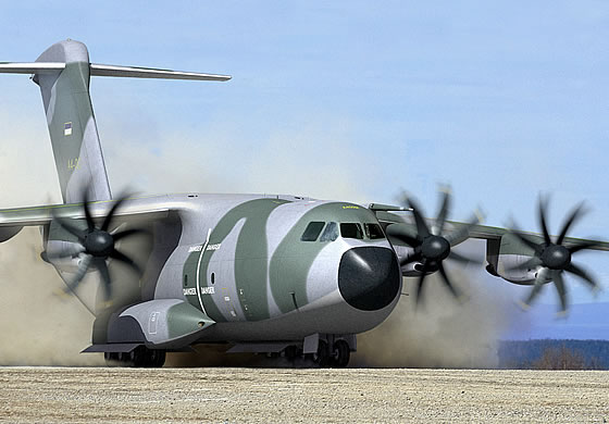 The first A-400M  will be given  to the French Air Force in the second quarter of 2013