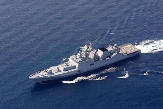 State tests of Indian frigate have began in the Baltic