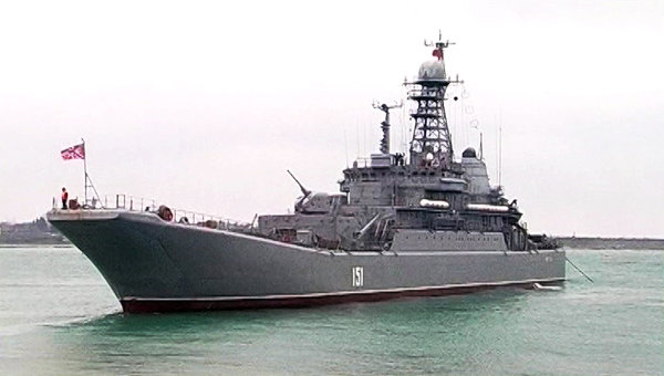 Two warship join Russia's Mediterranean Task Force