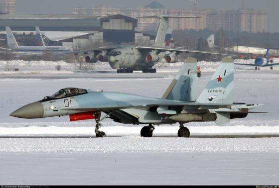 China will  ask Russia to equip the Su-35  wth national equipment