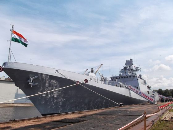 Russian warships for the Indian Navy