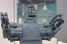Automated antiaircraft gun and Amphibious rifle unveiled in St.Petersburg