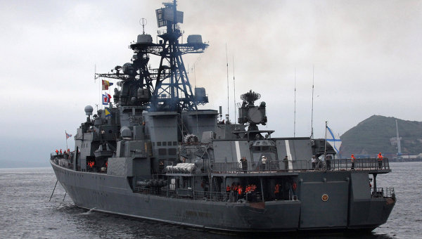 Russia's Mediterranean Fleet foreign policy tools - ex-Navy Chief
