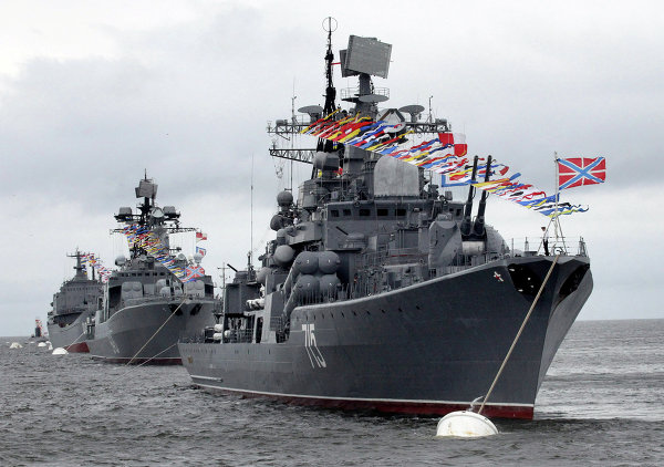 Russian Navy Day 2013