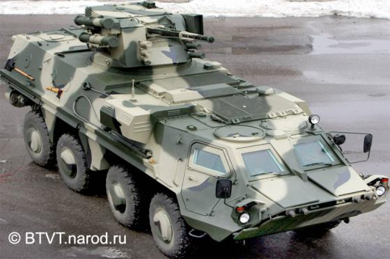 Iraq refused to accept the rejected Ukrainian BTR-4