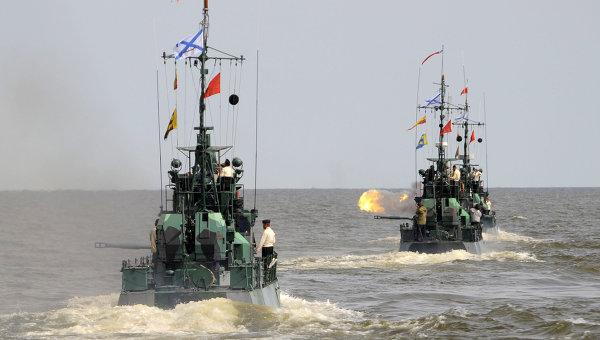 New Russian missile boat starts Caspian trials