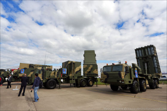At MAKS  a new anti-aircraft system was shown