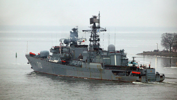 Russian Navy sending 3 more ships to Mediterranean