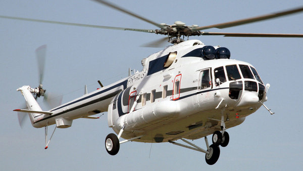 Russia Showcases New Helicopter in South Korea