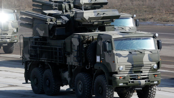 Moscow Air Defences Get New Short-Range Pantsir-S Systems