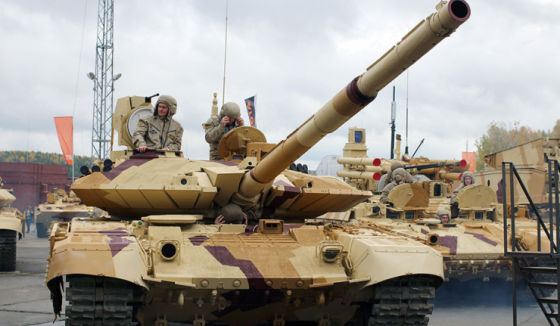 Over the past ten years, Azerbaijan has purchased 264 battle tanks