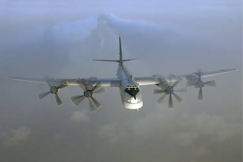Russian Bombers Complete Air Patrol Mission