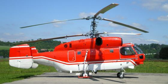 Simplex will install new fire suppression systems on the Ka-32