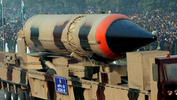 India Test-Fires Nuclear-Capable Ballistic Missile
