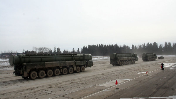 Russia Test-Fires ICBM to Target in Kazakhstan