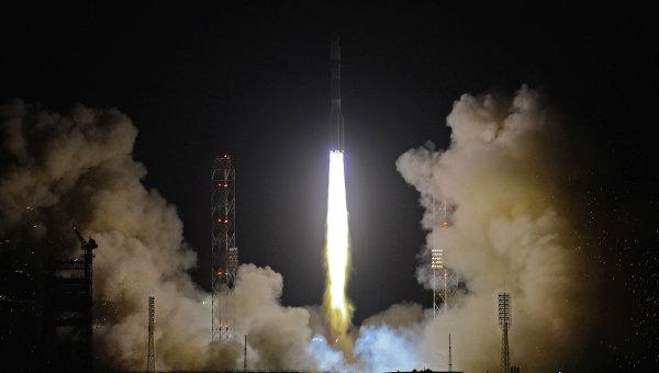 Russian Rocket Puts Telecoms Satellite Into Orbit