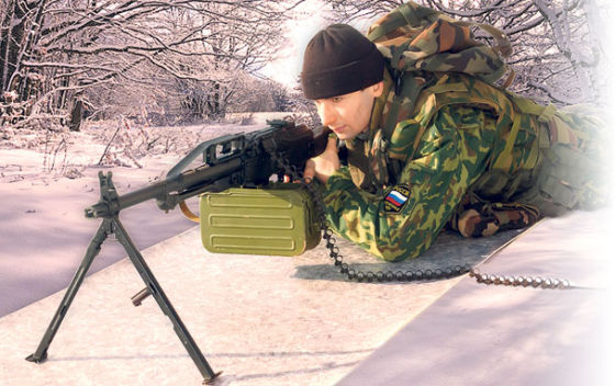 French military interested in the Russian machine gun