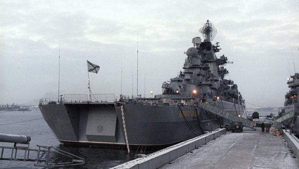 Russia Begins Nuclear-Powered Missile Cruiser Overhaul