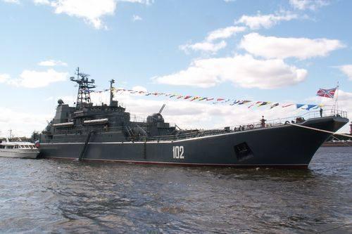 Kaliningrad Warship Joins Russia's Naval Force in Mediterranean