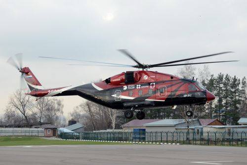 Russian Helicopters to Showcase New Rotorcraft in California