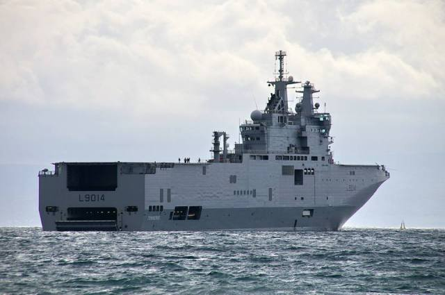 Mistral-Type Helicopter Carriers to Go on Combat Duty in Pacific