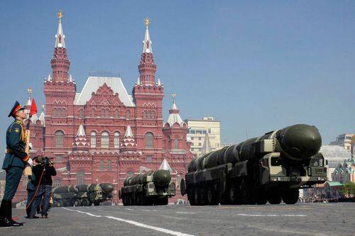 Russia Preparing Missile Troops for Victory Day Parade
