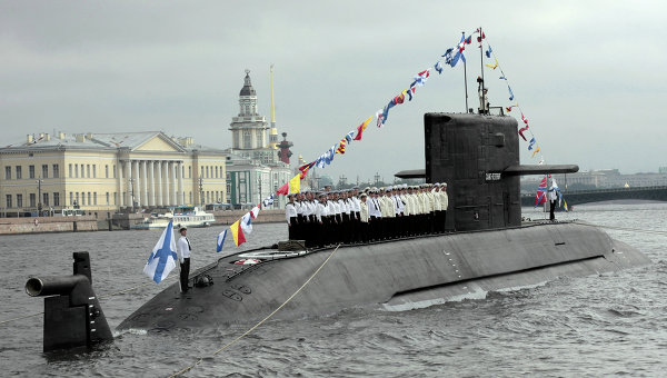 Russian Sub to Feature Advanced Quiet Propulsion by 2016