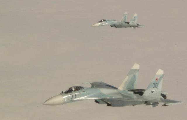 Russian jets and jets of Belarus Air Force ensure security of Union State