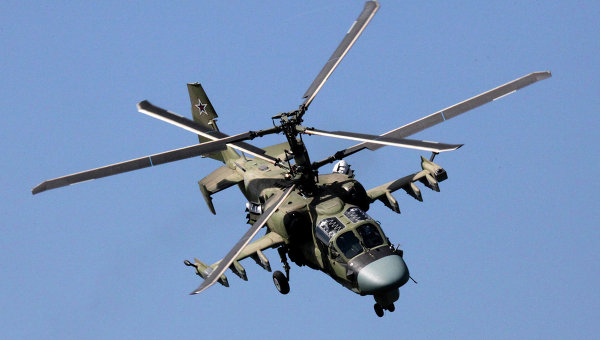 Russia Starts Combat Helicopter Training Flights on Baltic Border