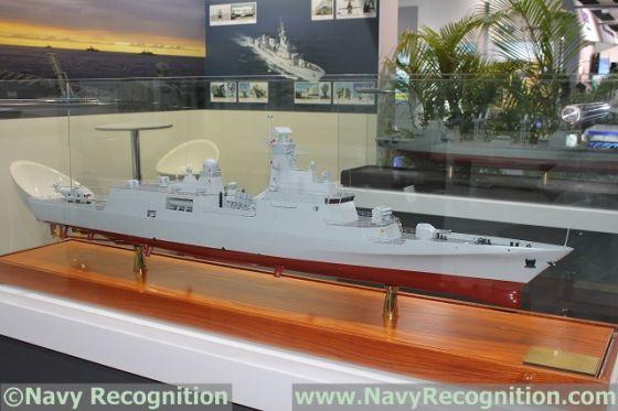 Chinese corvettes  for Algeria