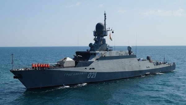 2 New Missile Corvettes to Join Russia's Caspian Flotilla