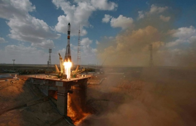 Soyuz-U rocket with Egyptian satellite launched from Baikonur
