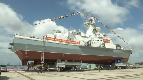 Vietnam floated two missile boats   project 12418