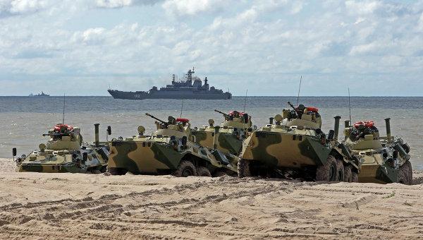 Russia Continues Military Exercise near EU Border, 'Eliminates' Militant Group