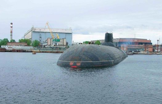 Russia's new nuclear submarine to use only domestically made components